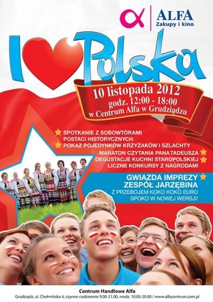 I ♥ Polska! 10.11.2012 w Alfie