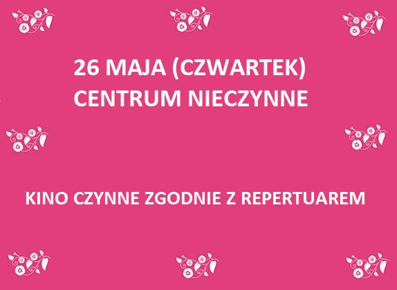 26 MAJA