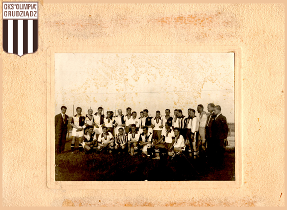 Wystawa archiwalnych zdjęć Olimpii Grudziądz