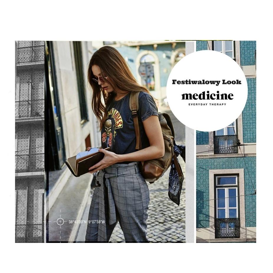 Festiwalowy look z Medicine