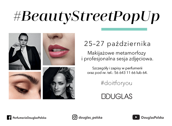 DOUGLAS BEAUTY STREET POP UP