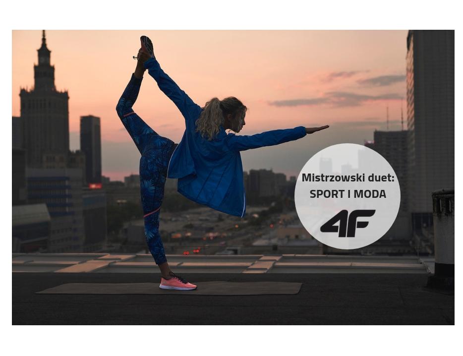 Mistrzowski duet: sport i moda z 4F