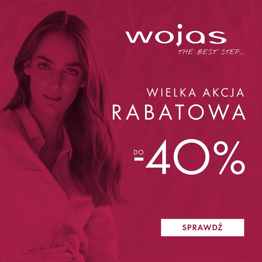 a1364b88421ec0 WIELKA AKCJA RABATOWA W SALONACH WOJAS !!! DO -40% – ALFA CENTRUM