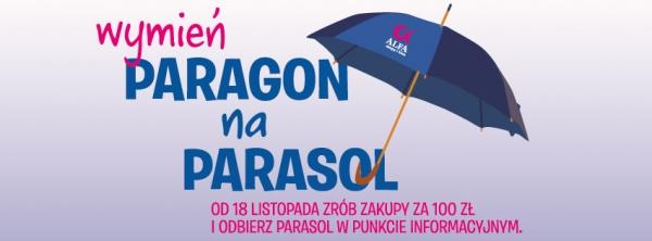 Wymieńparagon na parasol