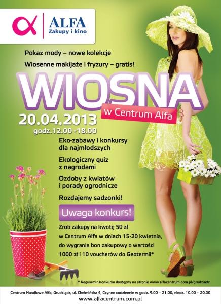 WIOSNA W ALFIE  20.04.2013