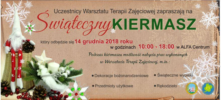 grafika 872x400px Kiermasz świąteczny 2018a