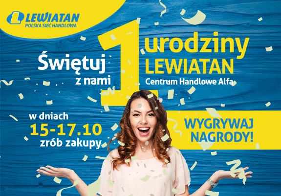 Pierwsze urodziny Supermarketu Lewiatan!