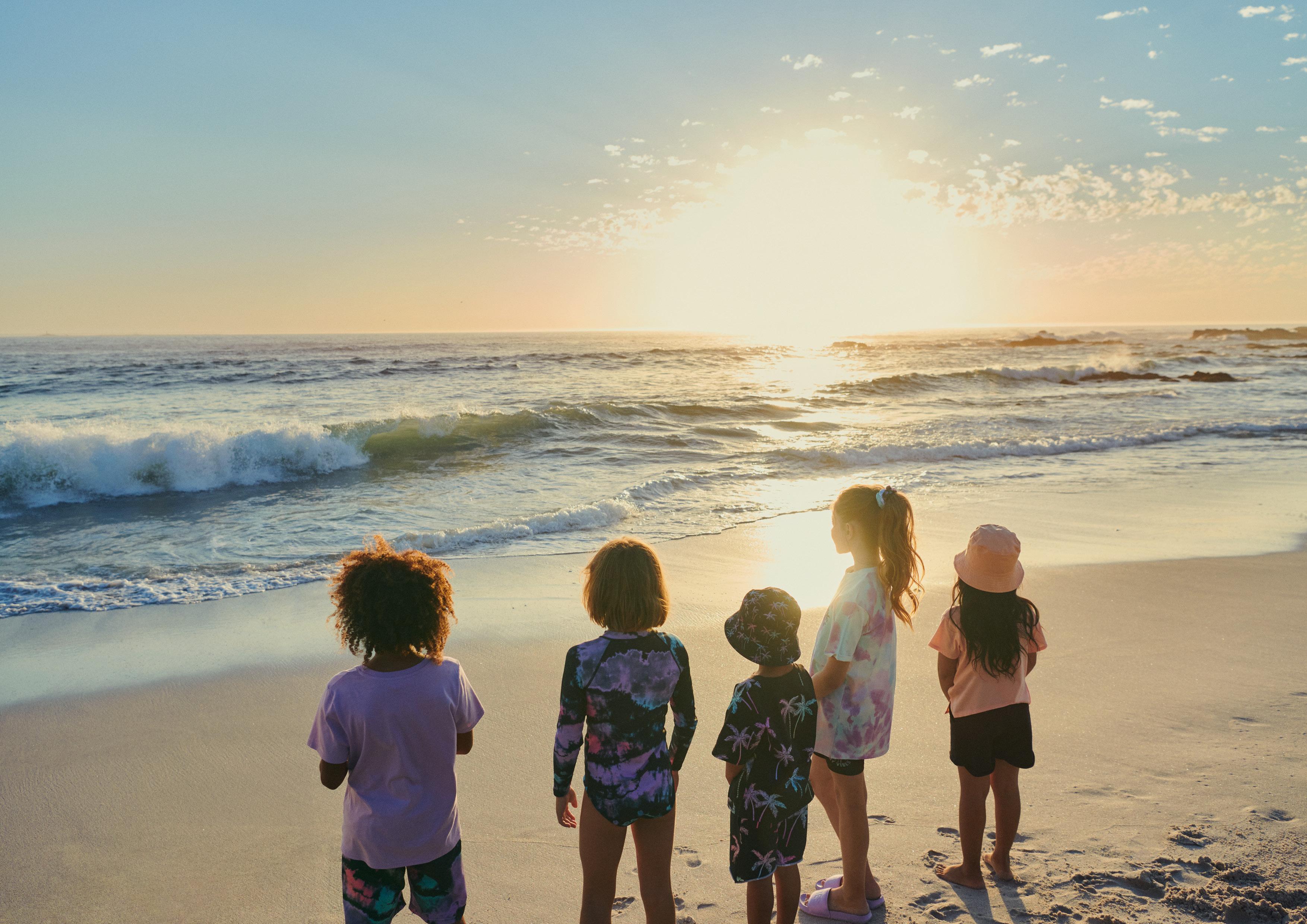 Moda na plażowanie dla całej rodziny!